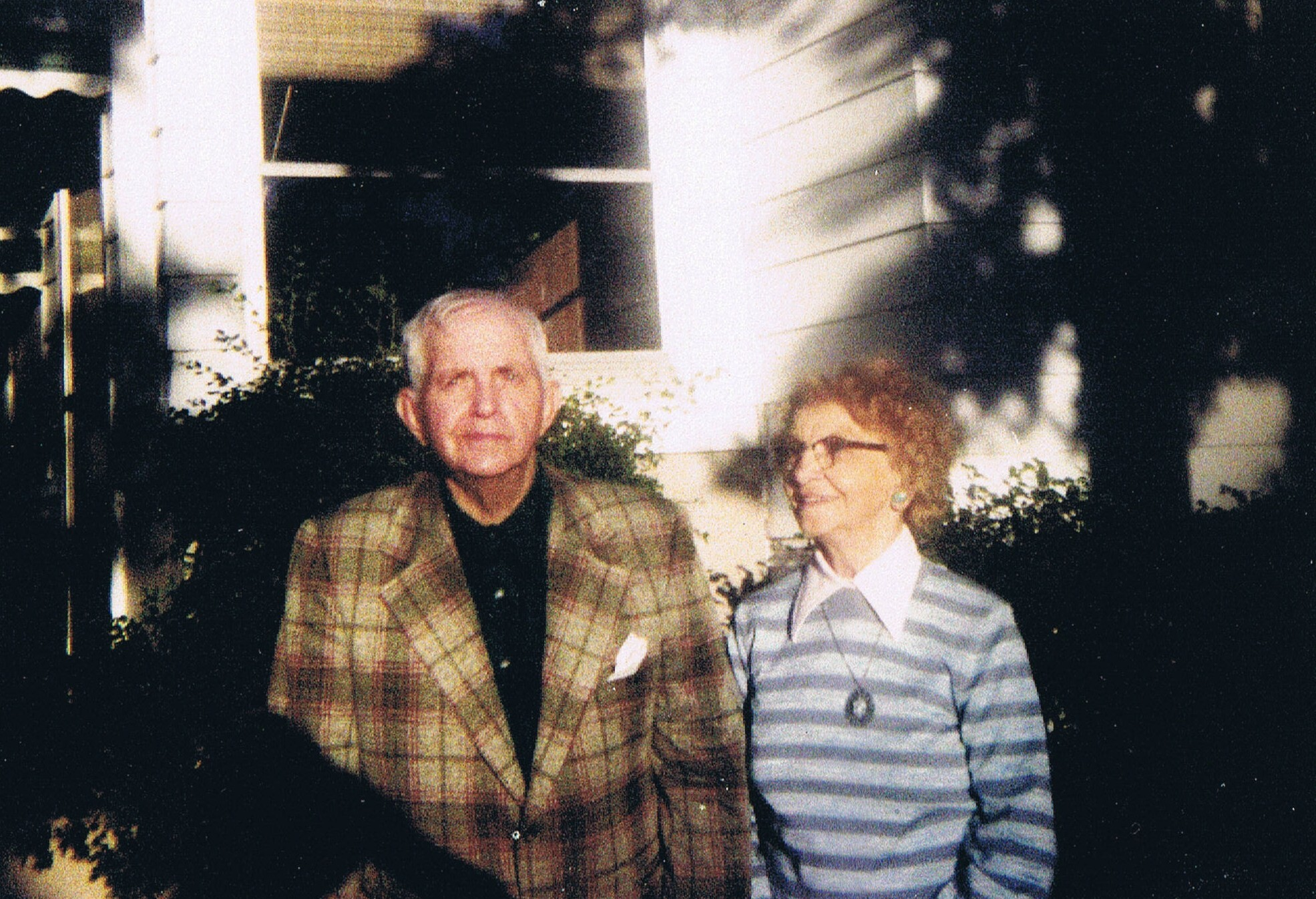 Clarence Uhlmann and Christine Berg