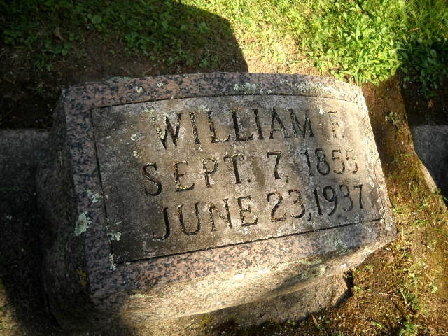 Gravestone for William Bredendick.